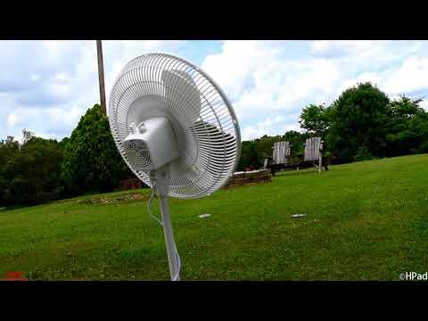 New Lasko Stand Fan Destruction