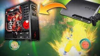Jugando juegos de PS3 en mi Computadora! Dragon Ball Z Raging Blast (RPCS3)