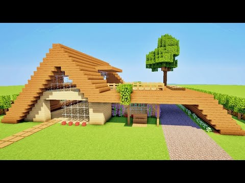Tuto Maison Moderne Minecraft Youtube