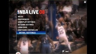 Lets Play NBA Live 08 PC - Community Request - SUPERSTAR '08 AIACT Animation MOD
