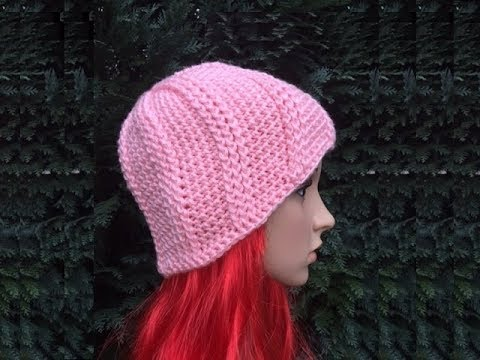 Crochet Patterns Youtube Hats : ... to Crochet a Beanie Hat Pattern #16 ? by ThePatterfamily - YouTube