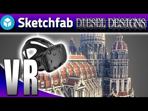 SketchFab VR :EP1:  Explore the World & Your Imagination! (HTC Vive Gameplay)