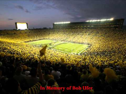Bob Ufer Introduces the Michigan Marching Band