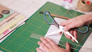 Knutselen met de Luxe Paper Blocks verkrijgbaar bij Action