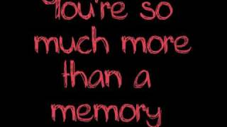 Hoobastank - More Than A Memory HQ (with lyrics)