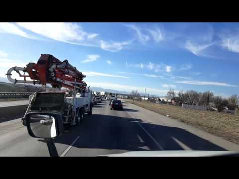 Bigrigtravels Live! - Commerce City to Longmont, Colorado - February 15, 2017