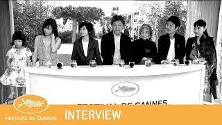 MANBIKI KAZOKU - Cannes 2018 - Interview - EV