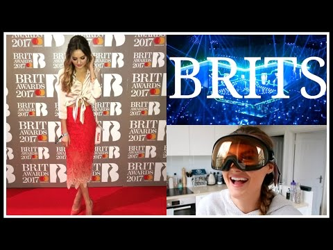 I WENT TO THE BRITS! | Niomi Smart VLOG