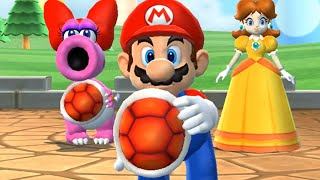 Mario Party 9 MiniGames - Mario Vs Princess Peach Vs Birdo Vs Waluigi (Master Difficulty)