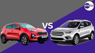 FORD ESCAPE VS KIA SPORTAGE