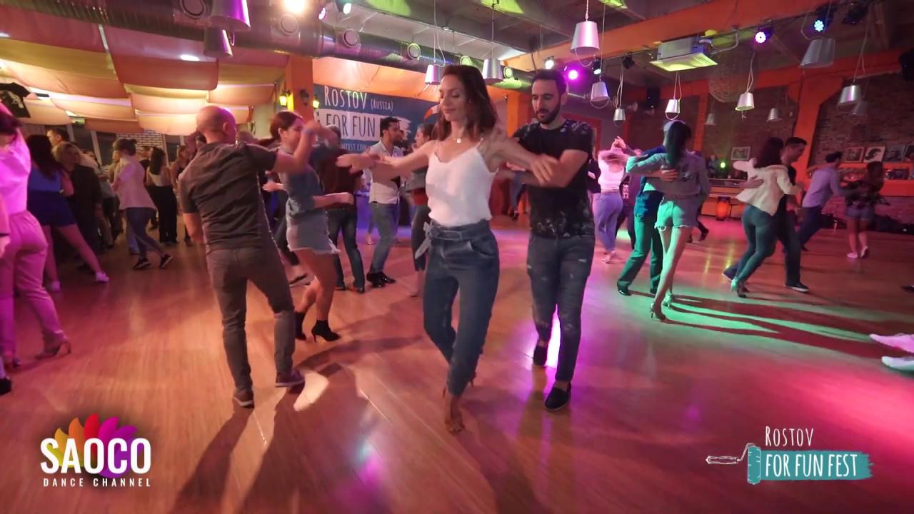 Paсo Sanmartin and Julia Kovalenko Salsa Dancing at Rostov For Fun Fest, Monday 04.11.2019 (SC)