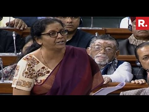 Defence Minister Nirmala Sitharaman Responds To Rahul Gandhi In Lok Sabha | #RafaleDebate