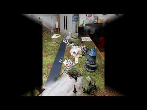 Kings of War 3rd Edition Battle Report:  Northern Alliance versus Goblins