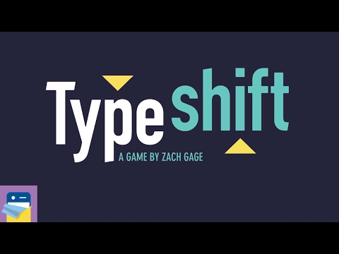 Typeshift: iOS iPad Gameplay & Vanilla & Strawberry Packs Walkthrough (by Zach Gage)