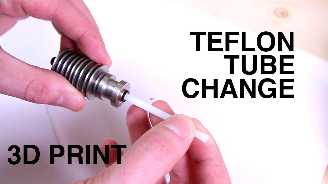 Teflon tube change