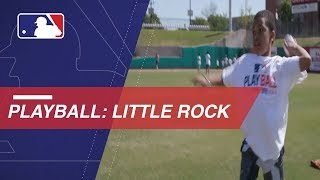 Play Ball comes to Little Rock, Arkansas