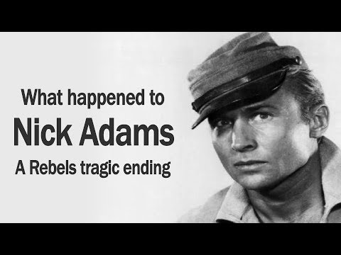 NICK ADAMS friend of ELVIS PRESLEY