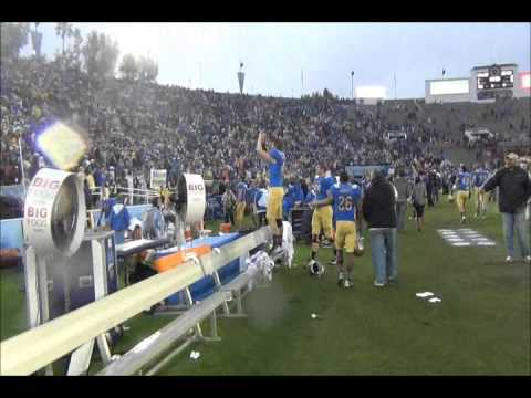 BSR TV: UCLA beats USC, Post-Game Celebration