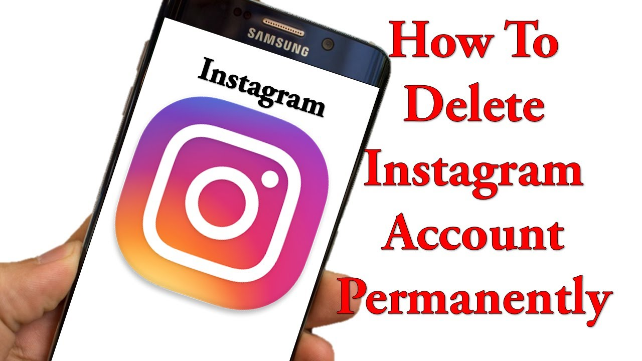 How to delete instagram account permanently in hindi 2017 youtube how to delete instagram account permanently in hindi 2017 ccuart Image collections