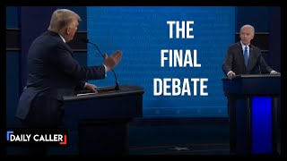 Everything You Missed From The Final Presidential Debate
