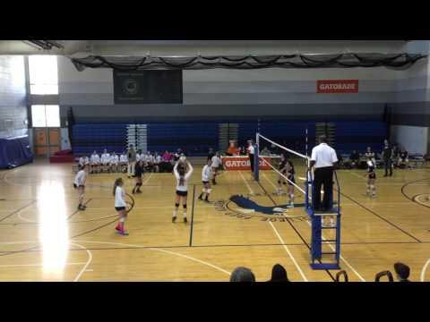 2015 Whitney Young Highschool Freshmen Volleyball