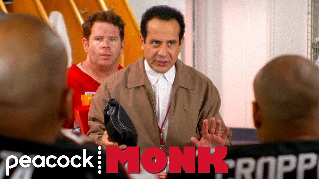 Download Monk Steals a Playbook From a Football Team | Monk