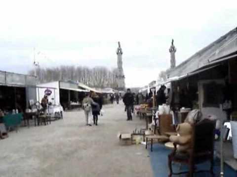 Foire à la brocante, place des Quinconces, Bordeaux