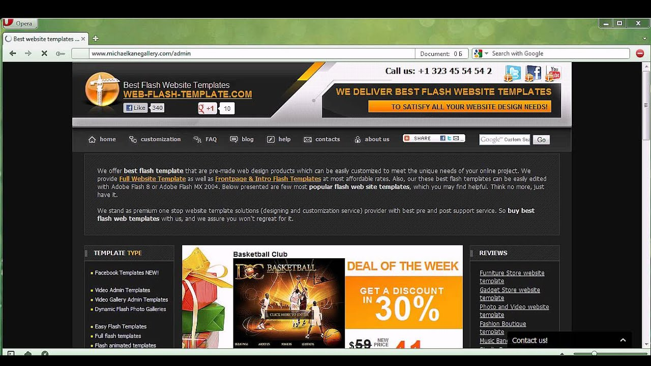HTML5 Gallery Admin - YouTube