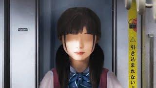 日式奇葩恐怖游戏:双马尾少女的恐怖电车之旅