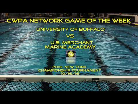 CWPA Network Game of the Week: Buffalo vs U.S. Merchant Marine Academy