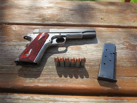 The Truth behind shooting steel case.45 ACP in a 1911