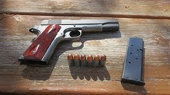 The Truth behind shooting steel case .45 ACP in a 1911
