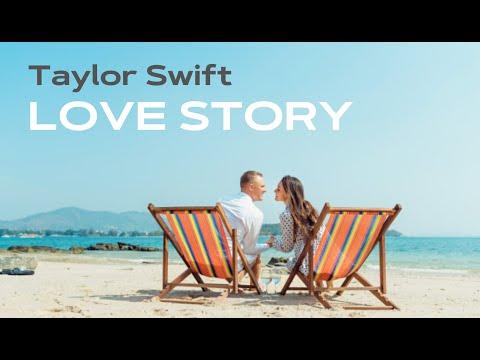 Taylor Swift – Love Story (lyrics + переклад українською) By Lucky Start