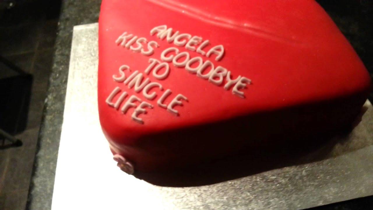Lips Cake Youtube