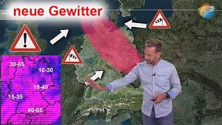 Vorwarnung! Konvergenz & Kaltfront mit Gewittern & Starkregen! Hitze in Griechenland bald schwächer!