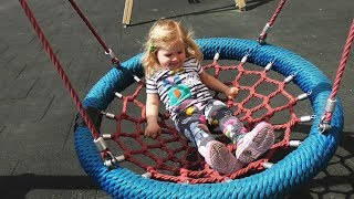 Little Diana plays on the playground near our house Fun playtime thumbnail