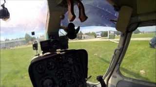 Kamov Ka-26 bemutató repülés onboard kamera