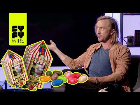 Harry Potter's Tom Felton Takes The Bertie Bott's Trivia Challenge! | SYFY WIRE