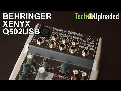 Behringer Xenyx Q502USB Review