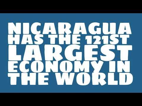 How big is the economy of Nicaragua?