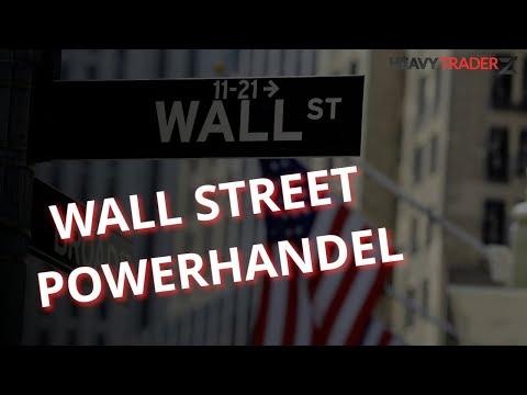 Einblick in den Tradingfloor - Wall Street Power Trading LIVE ab 15:30 Uhr auf www.heavytraderz.live