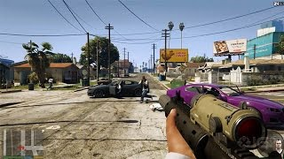 Grand Theft Auto 5 Remastered FIRST PERSON TRAILER 【1080p】[ [HD]
