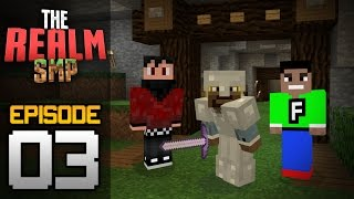 Realms Multiplayer Survival Ep. 3 (w/ Rage & Fuzion) - MELON FARM! - Minecraft PE (Pocket Edition)