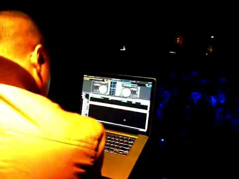 DJ P-Jay of Power 106 LA at Premiere Supper Club Hollywood 4/13/12!
