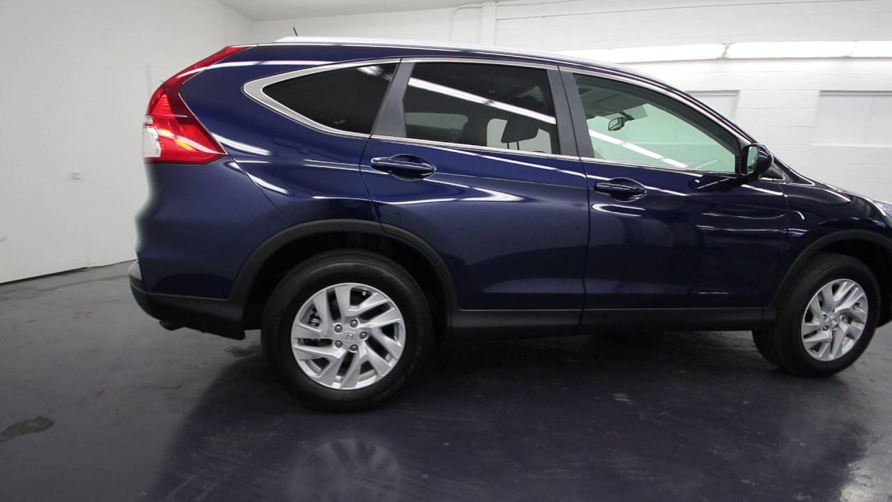 2016 Honda CR-V EX-L | Obsidian Blue Pearl | GH671565 | Seattle ...