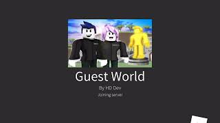 "ROBLOX Guest World 🌎 Code ""Guest"""