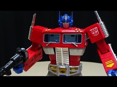 Toys R Us Exclusive MASTERPIECE OPTIMUS PRIME: EmGo's Transformers Reviews N' Stuff