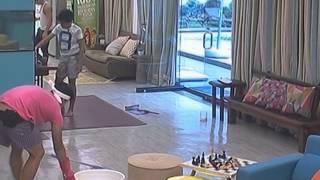 Bailey, Franco, Kenzo at Enchong, napa Twerk It Like Miley sa paglilinis