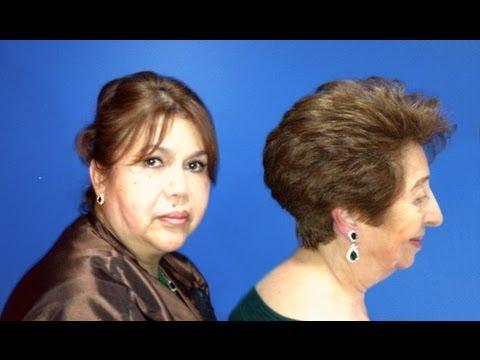 Corte Hongo o Garzon paso a paso - Corte de pelo en capas cortas 1 de 2 - Corte de cabelo Garzon