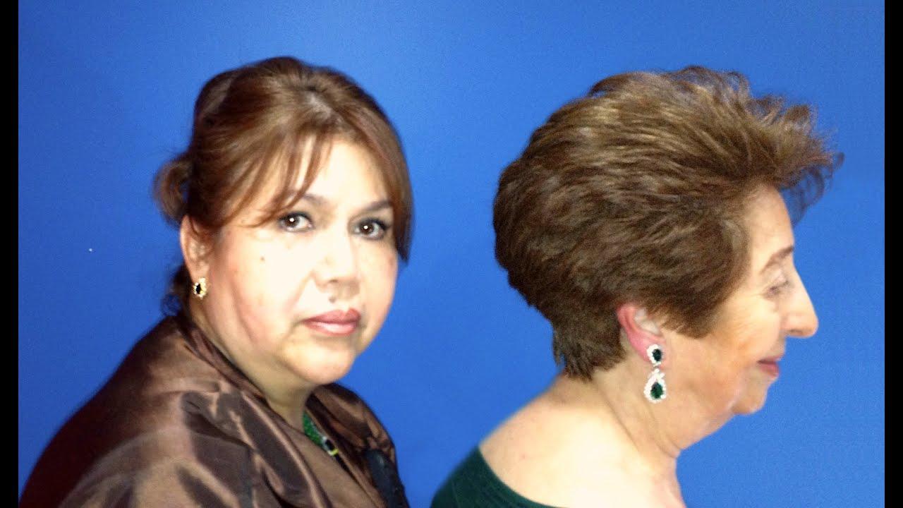 Corte de pelo basico para mujer
